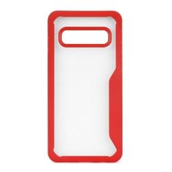 muvit funda Cristal Bump Samsung Galaxy S10 roja