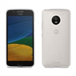 muvit funda Cristal Soft Motorola Moto G5 transparente