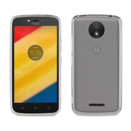 muvit funda Cristal Soft Motorola Moto C Plus transparente