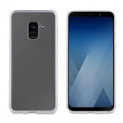 muvit funda Cristal Soft Samsung Galaxy A8 2018 transparente