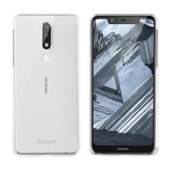 muvit carcasa Cristal Nokia 7.1 transparente