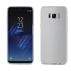 muvit funda Cristal Soft Samsung Galaxy S8 plus ultra fina transparente