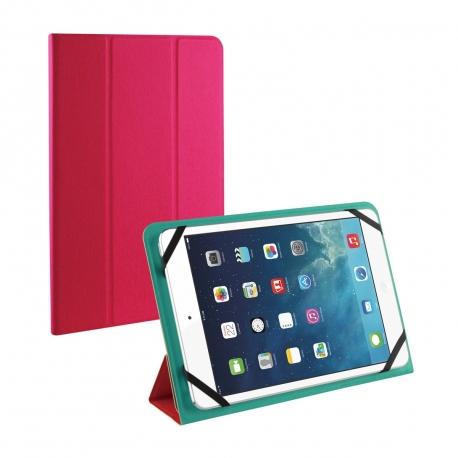 "muvit funda tablet universal reversible hasta 7-8"" verde/roja"