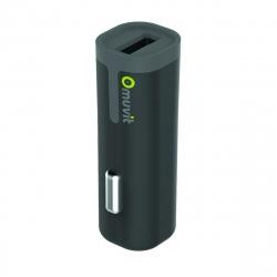 muvit cargador coche USB 2.4A negro
