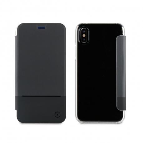 muvit funda Folio Apple iPhone Xs/X negra