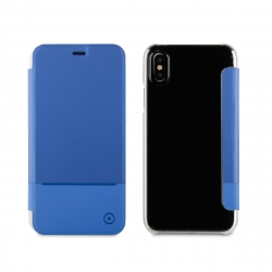muvit funda Folio Apple iPhone Xs/X azul