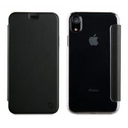 muvit funda Folio Apple iPhone XR negra