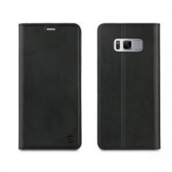 muvit funda Folio Samsung Galaxy S8 función soporte + tarjetero negra