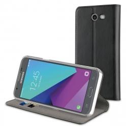 muvit funda Folio Samsung Galaxy J5 2017 función soporte + tarjetero negra