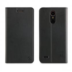 muvit funda Folio LG K10 2017 función soporte + tarjetero negra