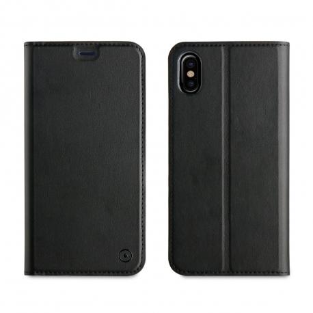 muvit funda Folio Apple iPhone Xs/X función soporte negra