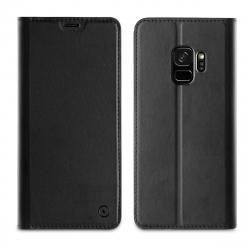 muvit funda Folio Samsung Galaxy S9 función soporte + tarjetero negra