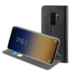 muvit funda Folio Samsung Galaxy S9 Plus función soporte + tarjetero negra