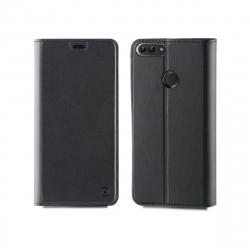 muvit funda Folio Huawei P Smart función soporte + tarjetero negra