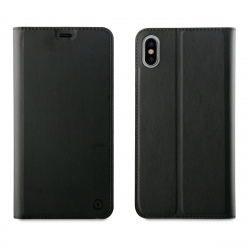 muvit funda Folio Apple iPhone XS Max función soporte negra