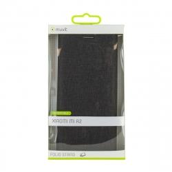 muvit funda Folio Xiaomi Mi A2 función soporte + tarjetero negra