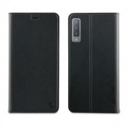muvit funda Folio Samsung Galaxy A7 2018 función soporte + tarjetero negra