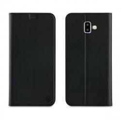 muvit funda Folio Samsung Galaxy J6 Plus función soporte + tarjetero negra