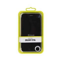 muvit funda Folio Samsung Galaxy S10e función soporte + tarjetero negra