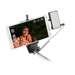 muvit flash con LED jack 3,5mm negro