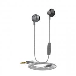 muvit auriculares estéreo M1B 3.5mm gris
