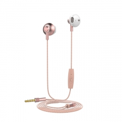muvit auriculares estéreo M1B3.5mm oro rosa