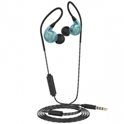 muvit auriculares estéreo sport jack 3.5mm M1S V2 azul