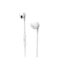 muvit auriculares estéreo M1C 3.5mm blanco