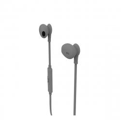 muvit auriculares estéreo M1C 3.5mm gris