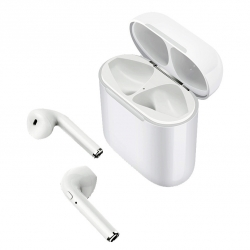 muvit auriculares estéreo wireless blancos