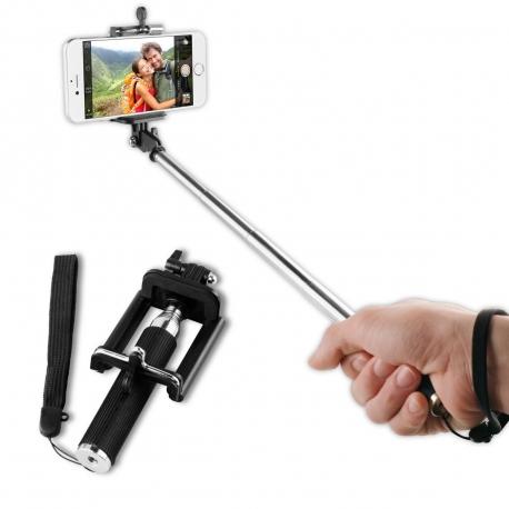 """muvit palo selfie hasta 5,5"""" negro"""