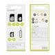 muvit pack 3 adaptadores SIM nanosim + microsim