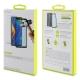 muvit pack Xiaomi Mi Max 3 funda Cristal transparente + protector pantalla vidrio templado plano marco negro