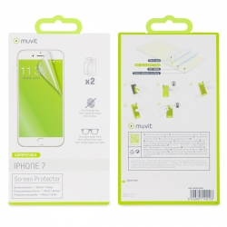 muvit protector pantalla flexible Apple iPhone 8/7 (1 unid mate + 1 unid brillo)