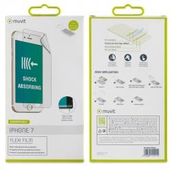muvit protector pantalla flexible Apple iPhone 8/7 con aplicador
