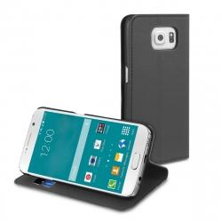 muvit funda Wallet Folio Samsung Galaxy S6 función soporte negra