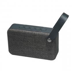 muvit altavoz Wireless 2x3W SD2 tela gris marengo