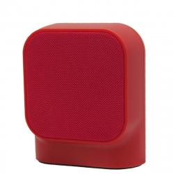muvit SD1 altavoz inalámbrico 3W tela rojo