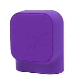 muvit SD1 altavoz inalámbrico 3W tela violeta