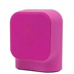 muvit SD1 altavoz inalámbrico 3W tela rosa