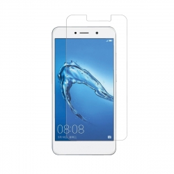 muvit protector pantalla Huawei Y7 vidrio templado plano marco negro