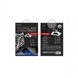 muvit Tiger Glass Samsung Galaxy S9 vidrio templado curvo case friendly marco negro con aplicador