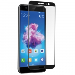 muvit protector pantalla Huawei P Smart vidrio templado plano marco negro