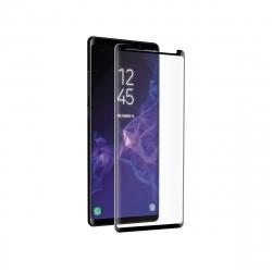 muvit protector pantalla Samsung Galaxy Note 9 vidrio templado curvo case friendly marco negro