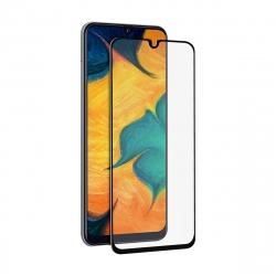 muvit protector pantalla Samsung Galaxy A40 vidrio templado plano marco negro