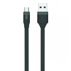 muvit cable USB-Micro USB 2.4A 1m negro