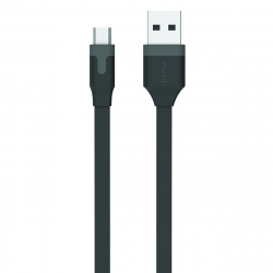 muvit cable USB-Micro USB 2.4A 2m negro