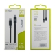 muvit cable Tipo C 3.0 a Tipo C 3.0 5GBPS 4.3A E-mark 1m negro