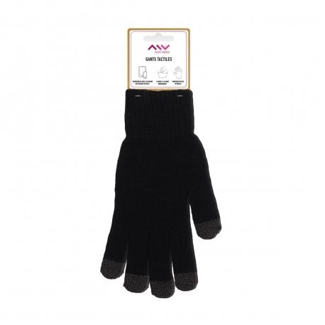 Myway guantes capacitivos talla M negro