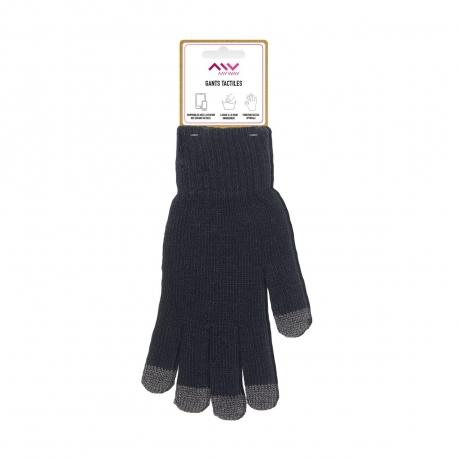 Myway guantes capacitivos talla M gris